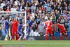 STEVEN GERRARD of Liverpool scores a goal to make it 1-1.--------------------.&Ben Queenboenborough /.Bars Premiermier League 2014/15.Cha v Liverpverpool.&#tamford Brd Bridge, Fulham Rd, London, United Kingdom.10 Ma152013;#13;©2015 Bueenueenborough /  a