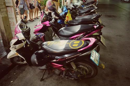 Motorbike in Hua Hin