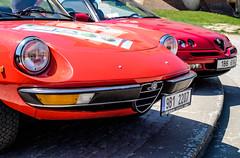 Alfa Romeo club meeting on Valtice Castle (The Adventurous Eye) Tags: castle club meeting alfa romeo zmek klub sraz valtice srazalfaromeonazmkuvaltice