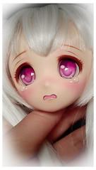 Obitsu Hime-Ane custom head (Clockwork_Angel) Tags: tears sad ooak crying bjd custom hime ane msd mdd obitsu parabox himeane