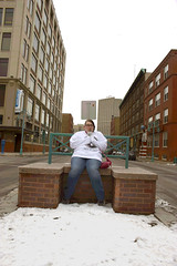 mmm? (annanewhouse@ymail.com) Tags: city winter cold wisconsin landscape downtown citylife springbreak starbucks frappuccino tianna tallbuildings milwalkee