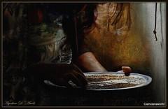 La pulitura del sesamo - Maggio-2016 (agostinodascoli) Tags: art texture photoshop nikon digitalart digitalpainting nikkor sicilia sesamo photopainting cianciana