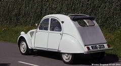 Citroën 2CV AZL 1960 (XBXG) Tags: auto old france holland classic netherlands car mobile vintage french automobile nederland citroën voiture 2cv frankrijk paysbas eend geit ancienne azl 1960 2016 vijfhuizen 2pk citroën2cv française deuche deudeuche citromobile citro dt9484