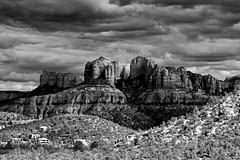 Cathedral Rock mono (another_scotsman) Tags: arizona blackandwhite monochrome landscape sedona cathedralrock