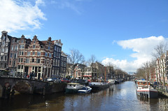 Brouwersgracht (-Kj.) Tags: bridge water sunshine amsterdam boat canal brouwersgracht