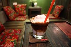 Cong Caphe's coconut coffee (Bex.Walton) Tags: travel coffee cafe vietnam hanoi oldquarter cong caphe