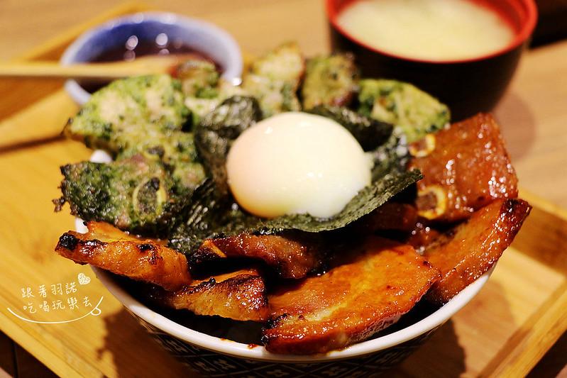 開丼燒肉vs丼飯-微風松高店048
