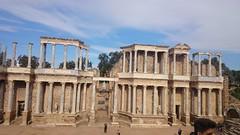 Teatro de Mrida, Extremadura. (maria.morenocalvente) Tags: arquitectura paisaje romano urbano turismo augusto csar lusitania histrico patrimonio agripa grecolatina siiac