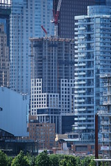 Polson Pier (Marcanadian) Tags: city lake toronto ontario canada building water june skyline architecture port scott pier spring construction downtown waterfront lands 88 2016 polson