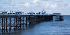 Llandudno Pier (Ged Slaughter Photography) Tags: blue sea panorama seascape heritage wales architecture buildings coast pier seaside pano victorian windmills roofs llandudno turbines rooves gedslaughter