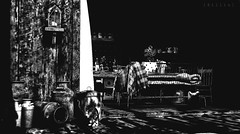 This is a place where I don't feel alone (Billie Llewellyn) Tags: bw home alone sl slphotography secondlifephotography secondlifehome slbw