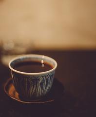 konishi koffee (Nazra Zahri) Tags: coffee tea cup coffeeshop dark moody spring 2016 raw vscofilm okayama japan