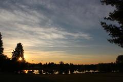 Daybreak (jmaxtours) Tags: sky sun lake toronto dawn centennial pond etobicoke centennialpark daybreak torontoontario etobicokeontario centennialparketobicoke
