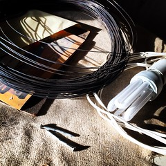 #wire #lamp #nails #iphone (Tryfon Tobias Pliatsikouris) Tags: lamp wire nails iphone