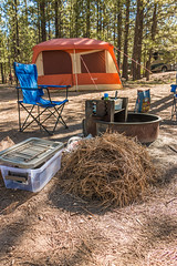 Bryce Canyon NP | North Campground (Facundity) Tags: blue camping summer orange utah chair tent brycecanyon usnationalpark brycecanyonnp northcampground