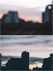 De terrazas otoales (little bird ) Tags: city autumn sunset sky fall colors beauty nikon buenos aires 85mm palette d7000
