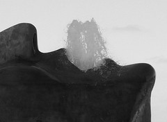 When Hot Drink A Lot (brandsvig) Tags: bw sculpture art fountain face skne sweden head mother may malm 2014 2015 fontn huvud hyllie gyllenhammar charlottegyllenhammar samsungs4 gurgla
