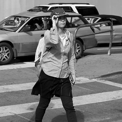 San Francisco, June, 2016 (Michael Dunn~!) Tags: sanfrancisco bw streetphotography marketstreet streetfoto photowalking photowalking20160608