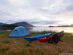 Beautiful camping (Laura McCance) Tags: camping expedition scotland kayak knoydart inverie tiso lochnevis