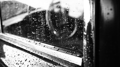 Black Drops (Stanislav Machacek) Tags: bw black car rain canon eos drops spring flickr explore 20mm oldcars strakonice explored 400d czphoto