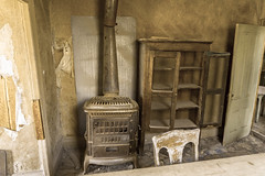 Dining Room (Endangered71) Tags: bodie ghosttown stove cabinet diningroom