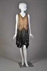 Beaded dress, ca. 1927 (KSU Museum) Tags: 1920s museum flapper fahsion fashionhistory