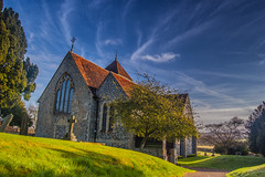 Godmersham Church (stuartchapman860) Tags: uk england church kent spring united kingdom ashford godmersham bilting