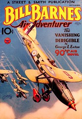 Bill Barnes Air Adventurer Vol. 2, No. 2 (Sept., 1934). Cover Art by Frank Tinsley (lhboudreau) Tags: magazine coverart pulp magazines 1934 pulpmagazine pulpcover biplane magazineart magazinecover magazinecovers pulpmagazinecovers tinsley colorart billbarnes biplanes pulps pulpcovers vintagemagazine vintagemagazines pulpart pulpmagazines pulpmagazinecover airadventurer streetsmith september1934 vintagepulpmagazine franktinsley volume2number2 vintagepulpmagazines billbarnesairadventurer vanishingdirigible thevanishingdirigible georgeleaton