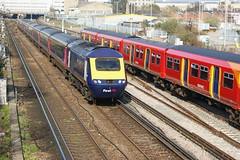 43018 at Wimbledon (Karel1999 Over Two Million views ,many thanks) Tags: zug trains wimbledon locomotives hst vlak 43018