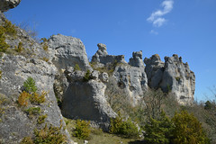 Rochers de Roquesaltes (Michel Seguret Thanks all for 8.600 000 views) Tags: france nature rock nikon rocks natur natura stein rocher rochers d800 aveyron calcaire causses roquesaltes caussenoir michelseguret saintandrdevezines