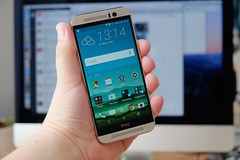 smartphone m9 htc htconem9 onem9 (Photo: Janitors on Flickr)