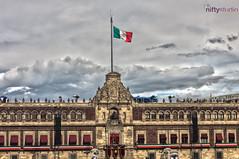Palacio Nacional (niftystudiomx) Tags: mexico df fireworks zocalo fuegos independencia artificiales cuetes