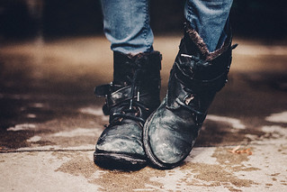 Keep your soul clean and your boots dirty.