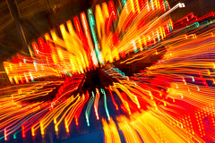 rainbow of colors (Sam Scholes) Tags: abstract fairgrounds utah us colorful ride unitedstates statefair fair saltlakecity utahstatefair utahstatefairgrounds attractionmotionblur