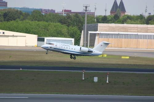 Luftwaffe / German Air Force Canadair CL-604 12+04 @TXL/EDDT airport
