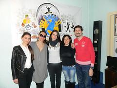 Angelita Puliafito, Eleonora Pariante, Alessia Di Fusco, Livia Massimi e Andrea Villanetti
