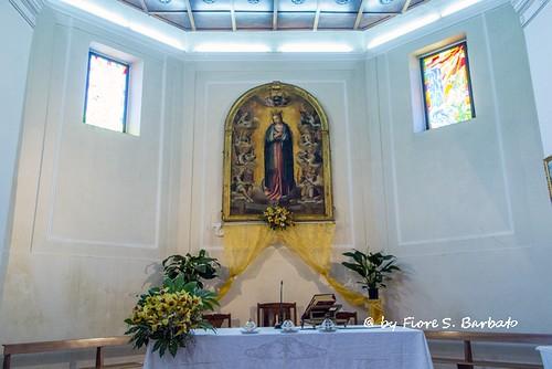 Pertosa (SA), 2015, Chiesa di Santa Maria delle Grazie.