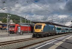 "EC 151 ""EMONA"" (LTE 1216) Tags: sterreich bahnhof db graz stazione steiermark mav bahnsteig gara emona 101106 ec151 mavstart ec216 470003 bbinfra"