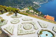 Villa Rufolo Gardens - the terrace 1