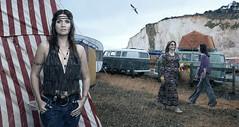 Ellen Brooks (blaisearnold.net) Tags: camping sea bus love crimson volkswagen king peace festivals hippy 70s hippie combi flowerpower seventys contreculture