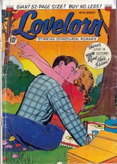 Lovelorn 16 (Michael Vance1) Tags: woman man art love comics artist marriage romance lovers dating comicbooks relationships cartoonist anthology silverage