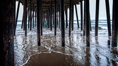 Stir Sticks (Calpastor) Tags: ocean california travel sea beach pier surf waves pacific pismo clams chowder tides obispo