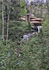 Fallingwater (tivolatman) Tags: architecture waterfall pennsylvania fallingwater