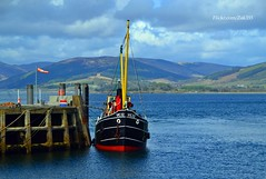 (Zak355) Tags: scotland riverclyde boat ship scottish vessel puffer bute rothesay isleofbute clydepuffer vic32