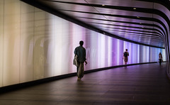 Colourful Tunnel (Mark Seton LRPS CPAGB) Tags: colour london st cross tunnel kings stpancras pancras f64g76r1win