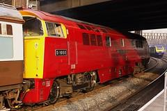 Arrivals and Departures at Paddington (Chris Baines) Tags: 1 platform champion plymouth western paddington plates railtour challenger charter pathfinder nobleman okehampton