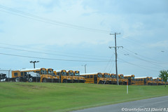 IC Bus Plant (OK) (Trucks, Buses, & Trains by granitefan713) Tags: ic international schoolbus conventional manufacturer pusher typec icce schoolbuses typed icre rearengine newbus internationalbus icbus newschoolbus