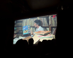 Projection Vinyl Bazaar au Comptoir Gnral 3 (therealromanoswaldbaby) Tags: les de victor  doc srie beyrouth liban  documentaire voix spicee kiswell