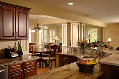 home interior (DESIGNfirst) Tags: wood house home kitchen modern floors design living chair counter sink cabinet furniture contemporary interior room unitedstatesofamerica decoration indoor couch sofa granite rug dining expensive decor luxury countertop tasteful luxurious
