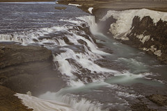 Two against the world (aerojad) Tags: longexposure travel vacation nature river landscape waterfall iceland canyon wanderlust gullfoss goldencircle hvt daytimelongexposure iceland2016